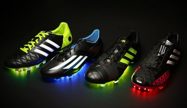 Adidas Black Series of Soccer Cleats