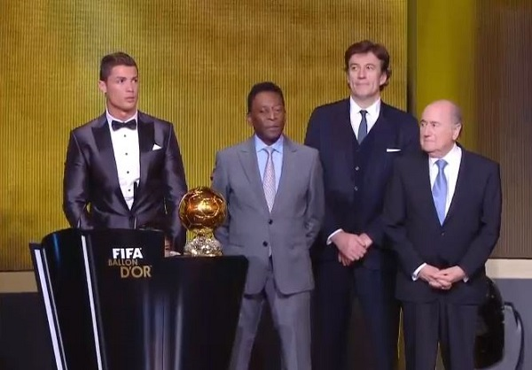 Ballon d'Or 2013 Winner