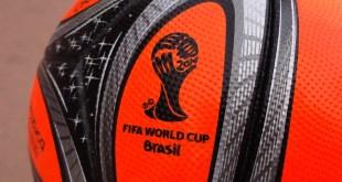 Brazuca Orange World Cup