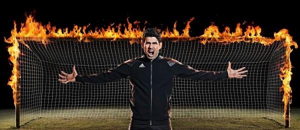 Diego Costa on Fire