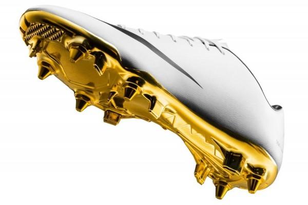 Gold Soleplate on Ronaldo Vapor