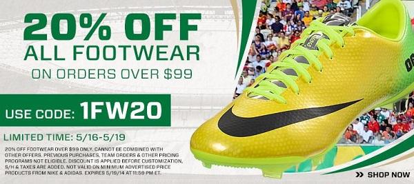 20 Off Footwear