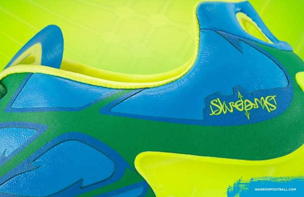 SKREAMER GREEN & BLUE HEEL