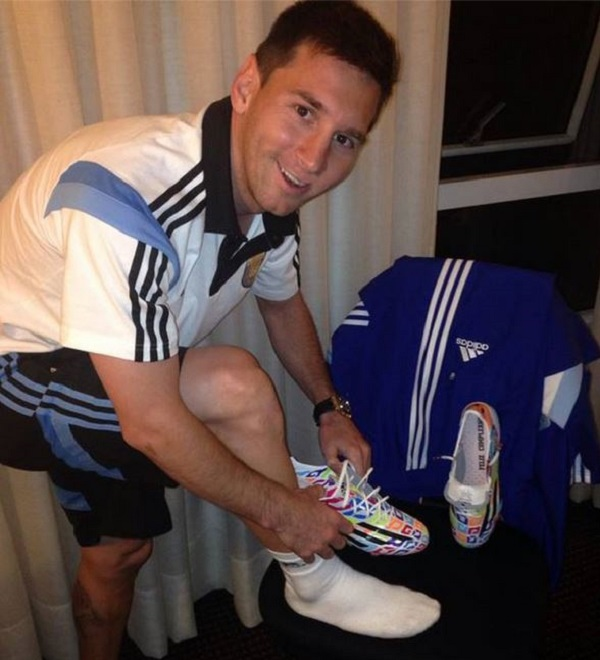 Messi New Boots