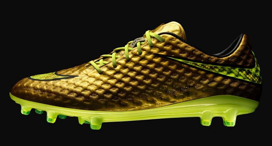 f263de1944a Nike Release Exclusive Gold Hypervenom For Neymar