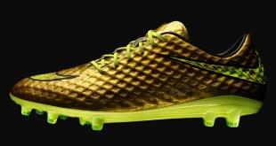 Nike Hypervenom in Gold