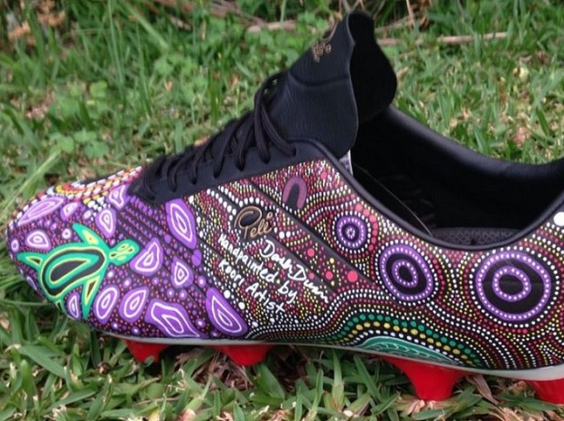 Daren Dunn Pele Boots Aboriginal Education