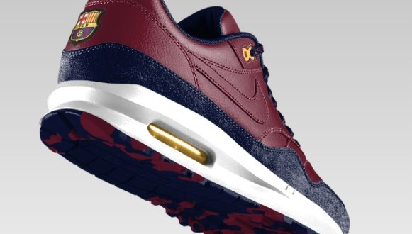 ... Barcelona and PSG Fans Get NikeID Air Max 1 Option Soccer C  Nike ... ba37d13e10