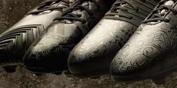Adidas Black Pack Detailing