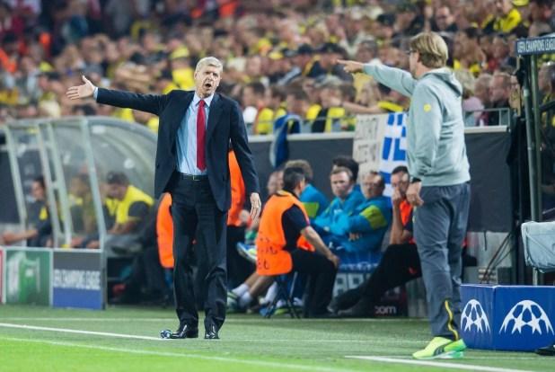 Wenger-v-Klopp