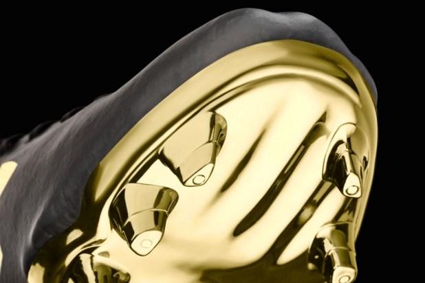 Gold Plated UA Speedform Soleplate