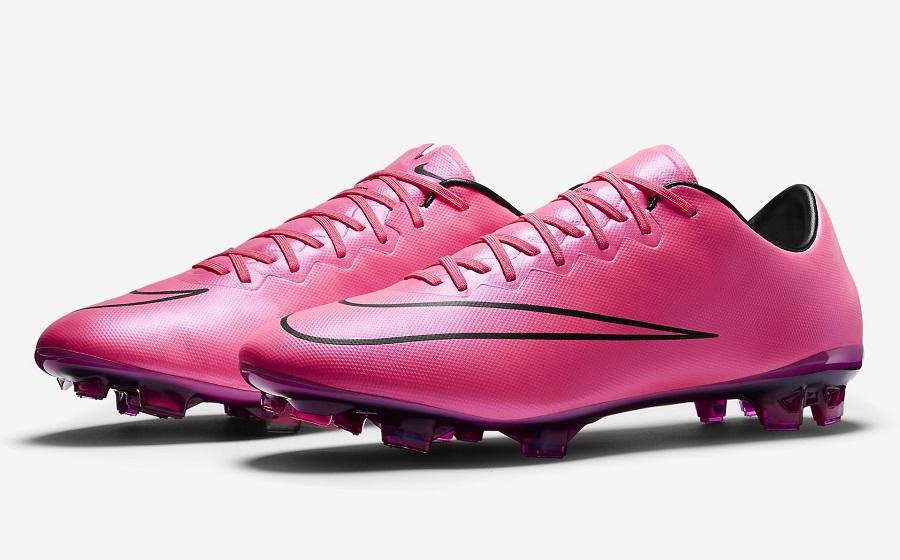 Nike Mercurial Vapor X in Hyper Pink