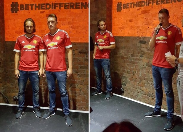 New Adidas Man Utd Home Kit