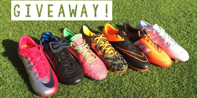 SOCCER CLEAT GIVEAWAY 2019