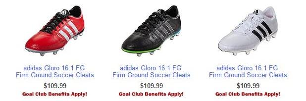 gloro 16.1 Colors