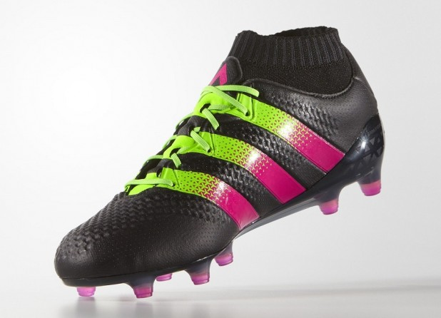 Black Shock Pink Adidas Ace16 Primeknit