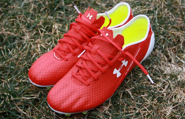 Under Armour Speedform in Red