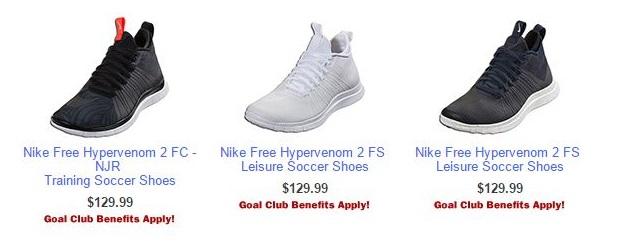 Nike Free Options