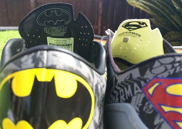 Under Armour Superman vs Batman Logo