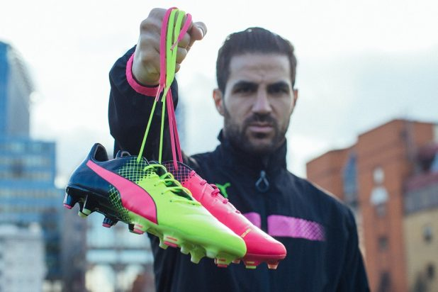 Fabregas with evoPOWER Tricks