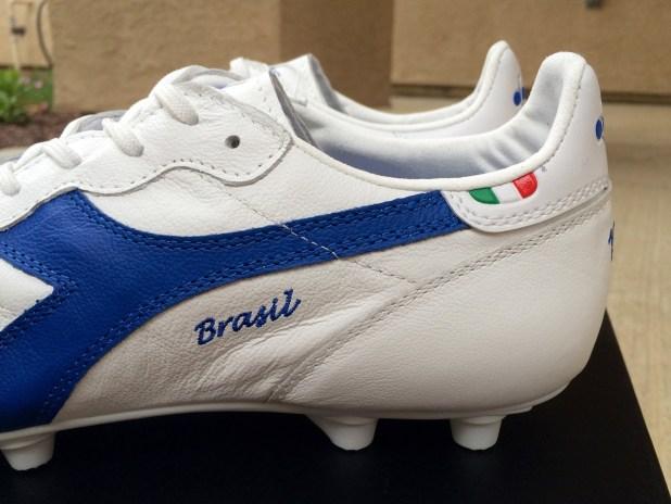 Diadora Brasil Italy Heel Design