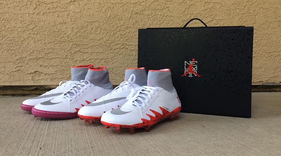 "13a1b09c5b Introducing the Nike Hypervenom njr x Jordan ""Special Edition Presentation  Case"""