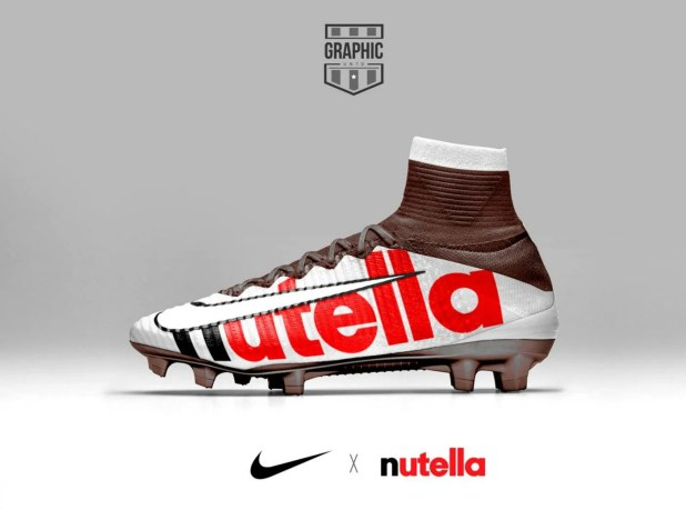 buy popular e70d8 bbcbb Nike Mercurial Nutella