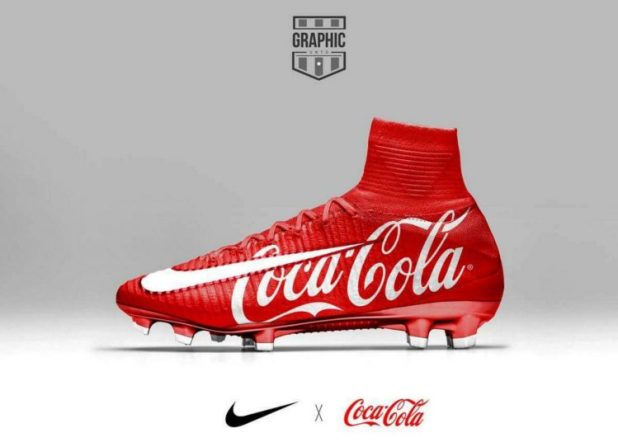 Nike Mercurial Superfly Xmas CocaCola