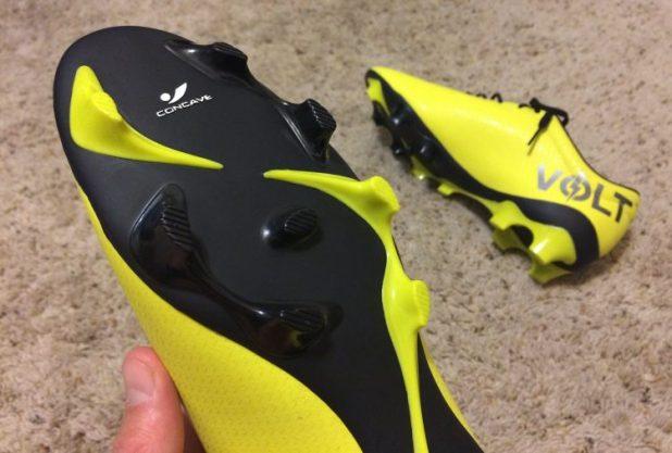 Concave Volt+ Soleplate Up Close