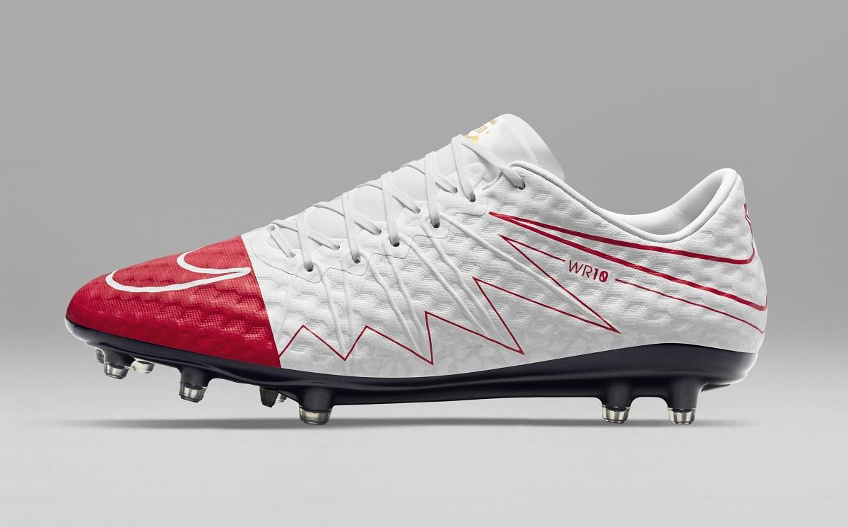 sale retailer 3afff 70ec7 Wayne Rooney's Custom Nike Hypervenom WR250 | Soccer Cleats 101