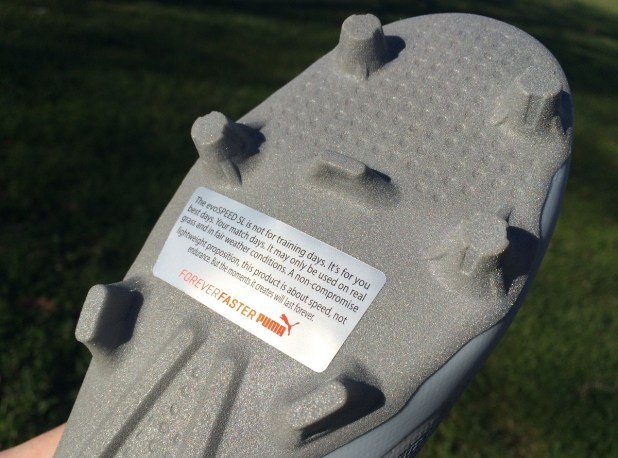 Puma evoSPEED Durability Warning