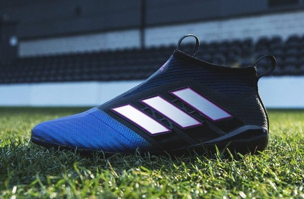 Up Close with the Blast Blue adidas Purecontrol