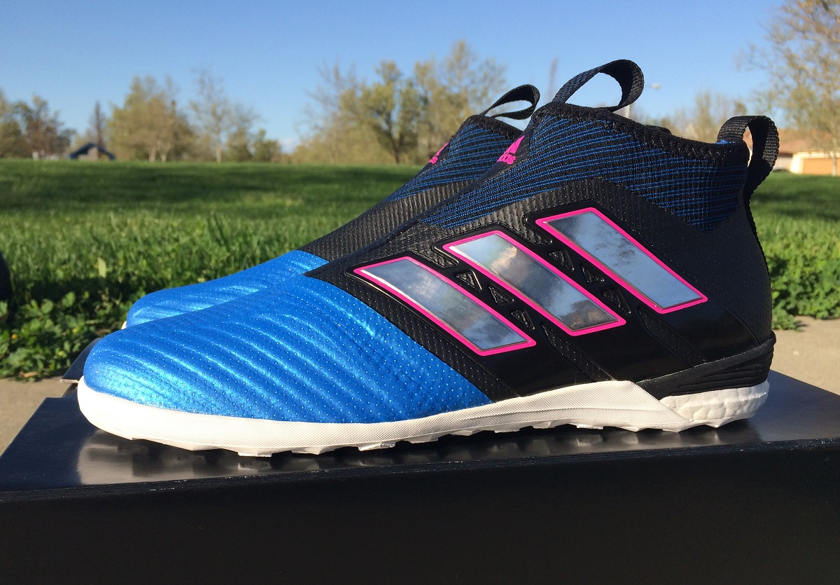 up close adidas ace tango 17 purecontrol in soccer. Black Bedroom Furniture Sets. Home Design Ideas