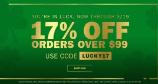 St Patricks Day Sale 2017