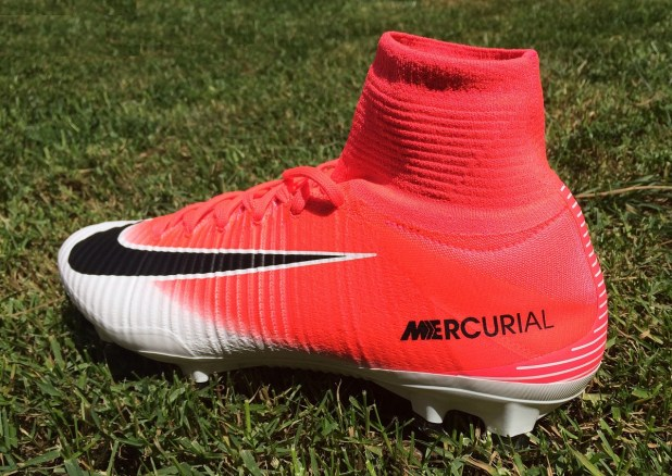 Mercurial Superfly V Heel