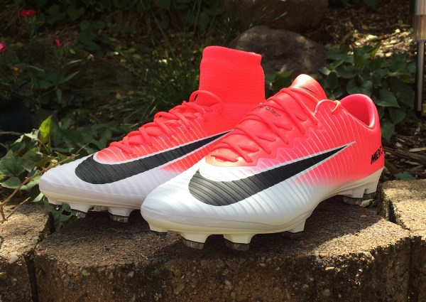 Pink Soccer Cleats