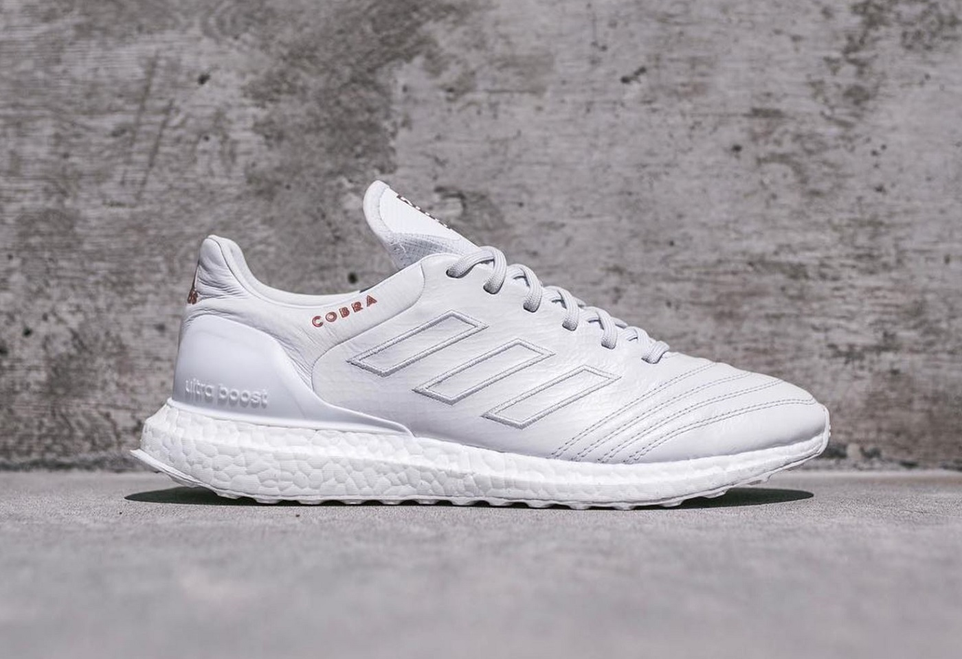 finest selection 249f4 89d6f Kith x adidas Soccer COPA Mundial 17 UltraBOOST – A snakeskin-embossed  kangaroo leather upper with an UltraBOOST midsole.