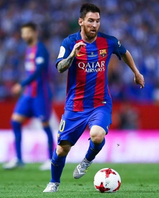 Lionel Messi in adidas Nemeziz