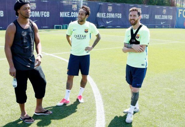 Messi Training in Nemeziz