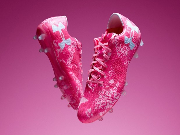 UA Clutchfit October Power In Pink