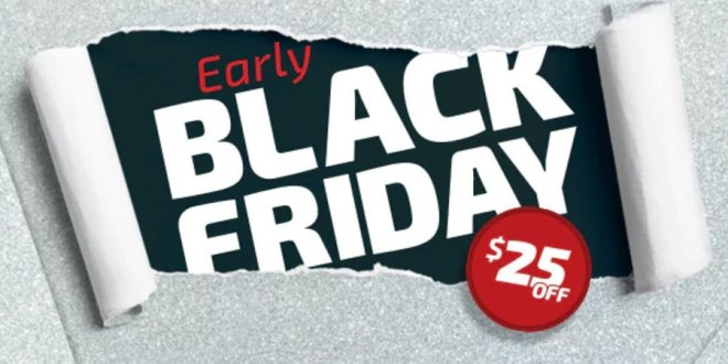 Early Black Friday Deals Kick Off!