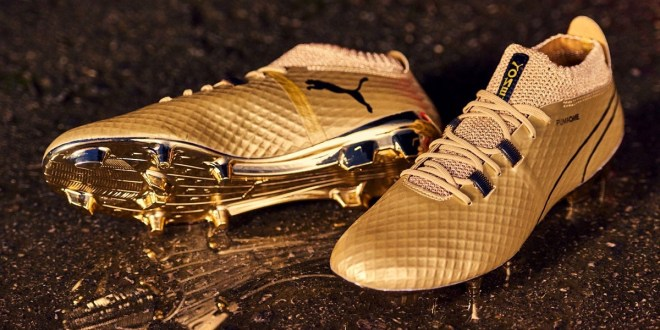 "Puma ONE ""Gold""  Limited Edition Released"