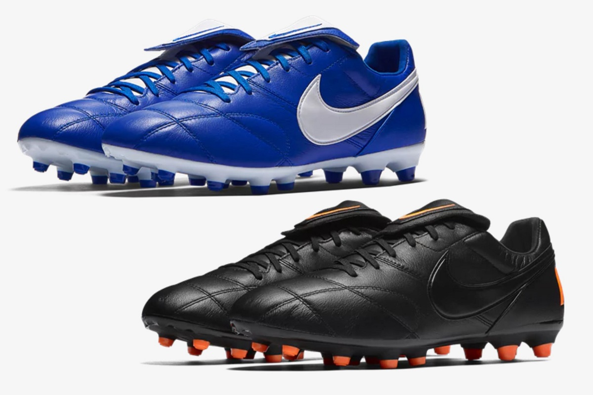 finest selection 85f8f 23142 Nike Premier II in Blue and Black