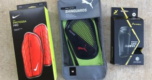 Shin Guard Options 2018