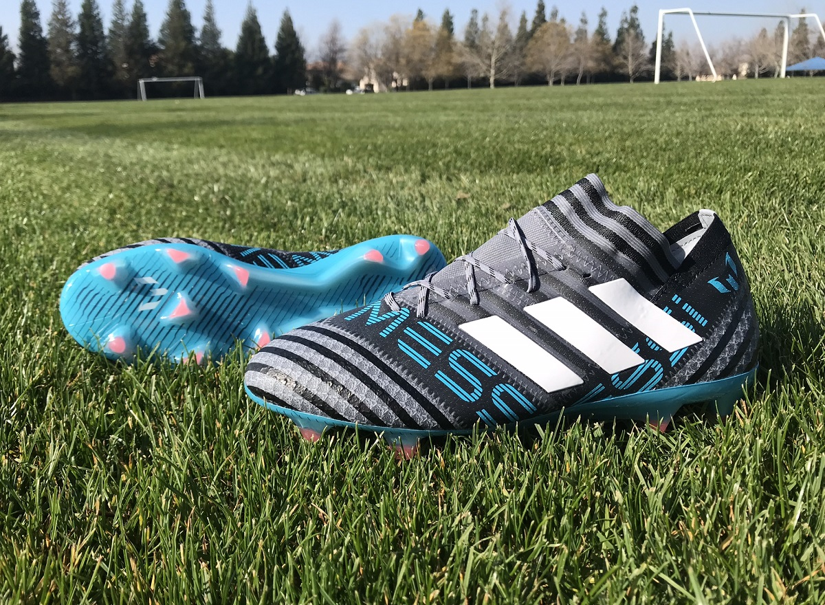 5b156aaf7c2c Up Close - Messi Nemeziz Goes Cold Blooded | Soccer Cleats 101