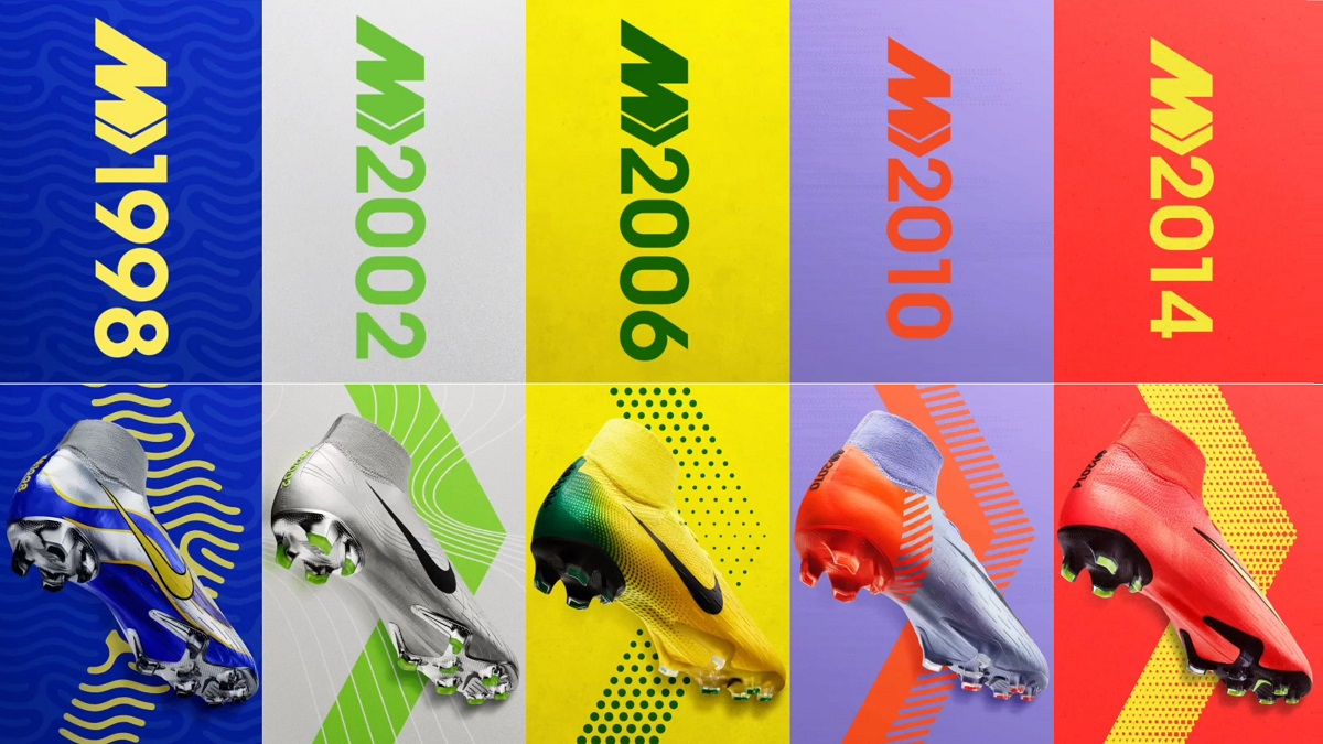 Buy Complete Nike Mercurial Heritage Collection Released b6bc40e4bb7