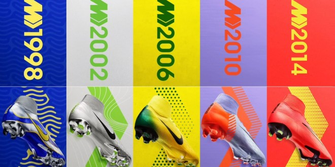 Complete Nike Mercurial Heritage Collection Released