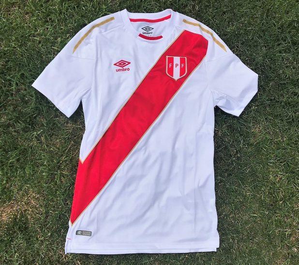 Umbro Peru Jersey 2018
