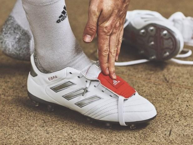 adidas Copa Gloro White Silver