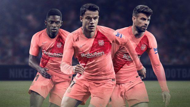 Barcelona New Third Soccer Jersey